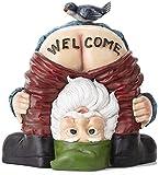 Mini Resina gnomo de jardín Estatua enana Adornos de la Corte Figuras de Elfos para decoración de jardín al Aire Libre-Estilo 21