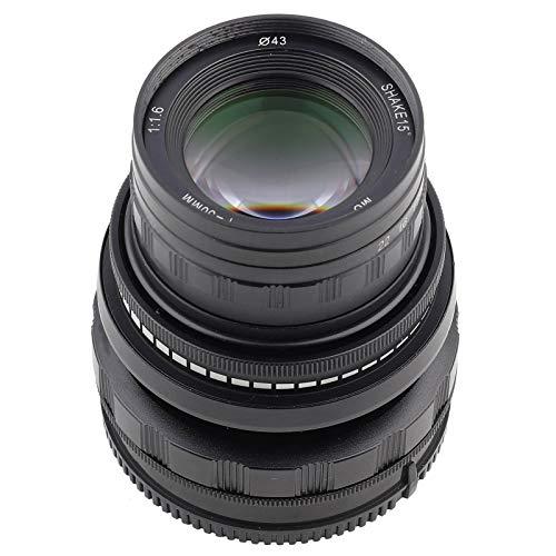 Walfront 50mm F1.7 Tilt Shift Manuelles Objektiv Vollformatobjektiv für die spiegellose Sony E Mount A9 A7 Kamera