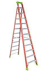 Louisville Fiberglass Cross-Step Ladder
