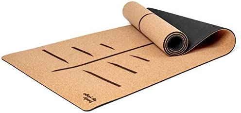 Luxury Cork Yoga Mat Non Slip Soft Sweat Resistant Thicker Longer and Wider For More Comfort product image