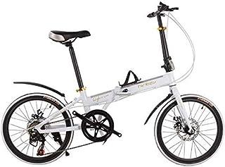 ZTBXQ Regalo Deportivo ldeas Freestyle Bicicletas para niños Bicicleta Plegable de aleación de Aluminio de 16 Pulgadas Bic...