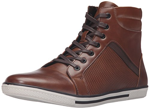 Unlisted by Kenneth Cole Men's Crown Worthy Sneaker, Cognac, 10.5 M US