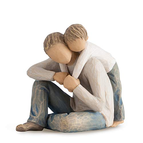 Willow Tree 27595 Figur That\'s My Dad, Resin, mehrfarbig, 12,1 x 8,9 x 10,5 cm