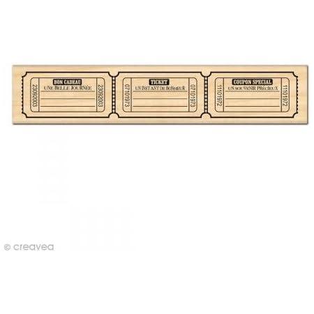 Floril/èges FF214033 Sello Dise/ño Scrapbooking Fronterizos Beige Page 15 x 4 x 2,5 cm