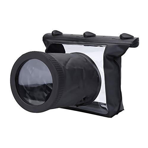 Topiky Wasserdichter HD-Unterwassergehäuse-Fall-Tauchbeutel-Beutel für Reflexkamera Canon DSLR
