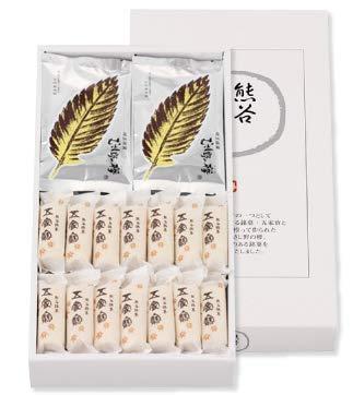 紅葉屋本店 熊谷菓撰 五家寶 28本(個包装)・むさし野の欅 10枚