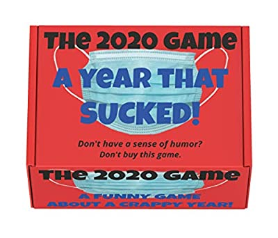 The 2020 Game: A Year That Sucked! The Crazy Party Game for Adults