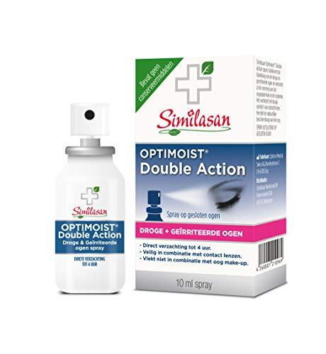 Similasan - Optimoist Double Action 2in1 spray - Tegen Droge en Geïrriteerde Ogen - Bevochtigd Oogoppervlak en Oogleden