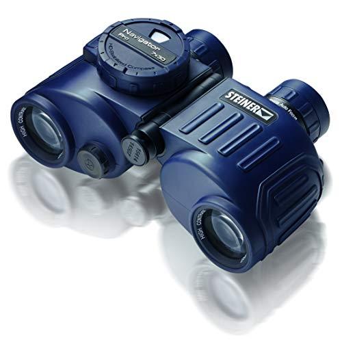 Steiner Navigator Pro 7x30 Marine-Fernglas mit Kompass - HD-stabilisierter Kompass, 5m wasserdicht, kompakt, leicht - perfekt für kurze Ausfahrten oder spontane Segeltörns