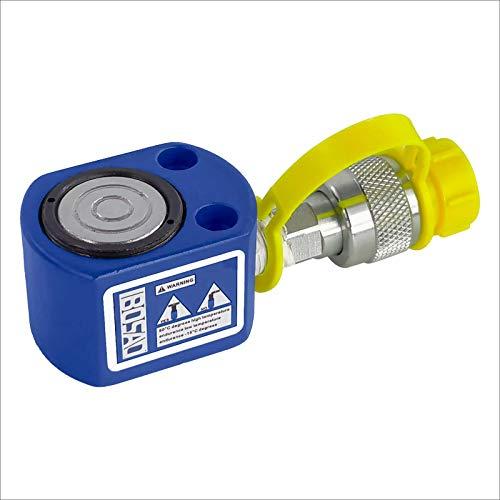 IBOSAD 5 Ton 0.31 Inch Hydraulic Cylinder Jack Single Acting Hydraulic Ram Cylinder Thin Hydraulic Lifting Cylinders