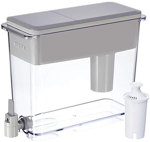 Brita Standard UltraMax Water Filter Dispenser, Gray, Extra Large 18 Cup, 1 Count