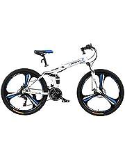فتنس مينتس دراجة قابلة للطي، FM-F26-01M-WH