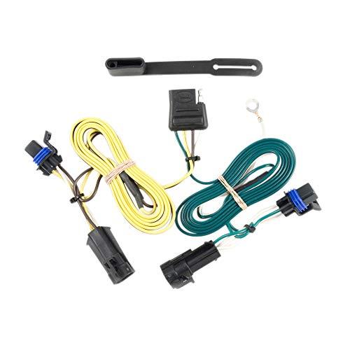 CURT 56013 Vehicle-Side Custom 4-Pin Trailer Wiring Harness for Select Chevrolet Malibu, Maxx, Pontiac G6