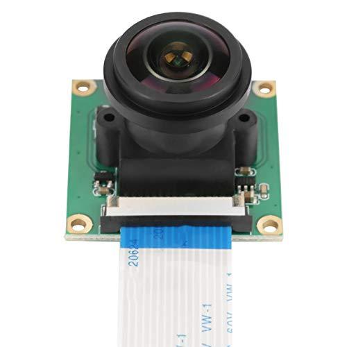 Pangdingk Módulo de cámara de 5MP de tamaño pequeño, módulo de cámara Gran Angular confiable, cámara de 5MP para Raspberry Pi B 3