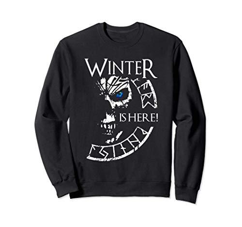 Winter is Here für GOT Fans als Geschenk GOT Sweatshirt
