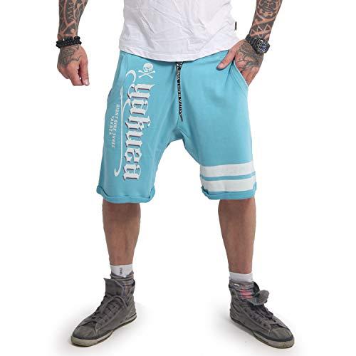 Yakuza Herren Scrap Town Sweat Shorts, Maui Blue, L