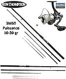 Okuma Ensemble pêche Feeder Canne Refined Feeder 360 (10-30gr) + Moulinet AMR 140