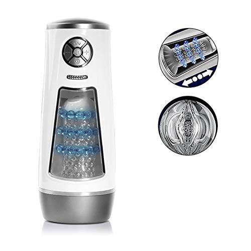 ETbotu Erotisme, Valentine's Day Present, elektrische zuigersnijder, volautomatisch met sterke aandrijving, heroplaadbaar, 3D realistische likelife vibrator zuiger massageapparaat