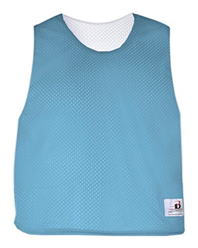 Badger Sport Columbia Light Blue/White Youth S/M Reversible LAX Practice Jersey Pinnies