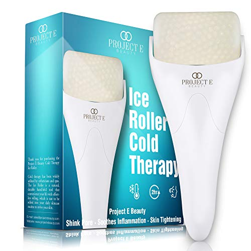 Project E Beauty Ice Roller Cold Therapy | Face Eye Body Massage Massager Under Eye Puffiness...