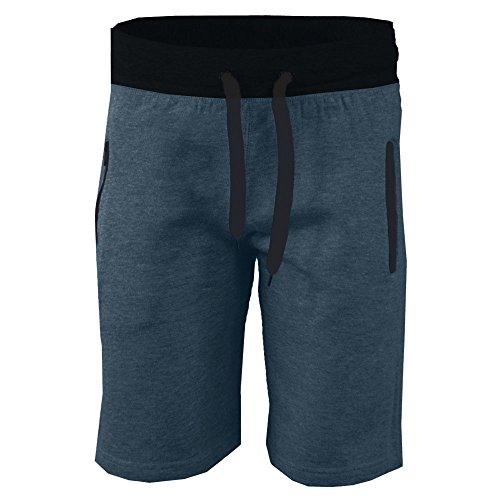 JUTOO 2019 Männer Pocket Beach Work Casual Kurze Hosen Shorts Hosen (Blau,M)