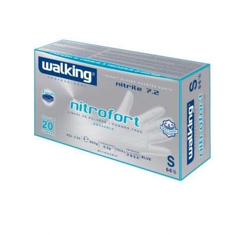 WALKING - Guanti Nitrofort Nitrile XL