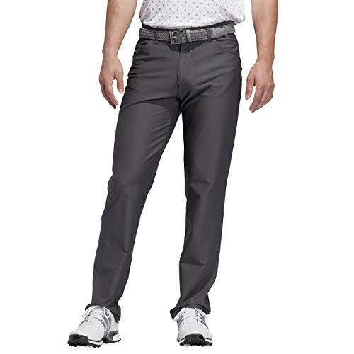 adidas Golf Herren ultimative 5-Pocket-Fest Hosen - Grau Six - 38-32