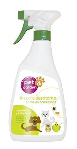 Flower 40572 40572-Insecticida Entorno Animales domésticos, 500 ml, No Aplica, 11x4.5x23.8 cm