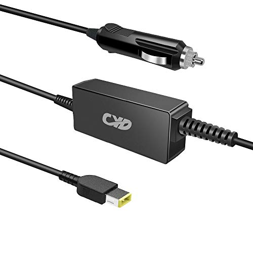 CYD Laptop car Charger 65w Replacement for Lenovo IdeaPad Yoga 2-11 11.6'/2 Pro 13.3' Ultrabook Yoga 370 Yoga 14 460 3.3ft Notebook Power ac Adapter Supply Cord Cable