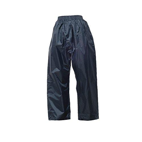 Regatta Surpantalon Homme Imperméable et Coupe-Vent Pro Stormbreak Overtrousers Homme Bleu (Navy) FR: L (Taille Fabricant: L)