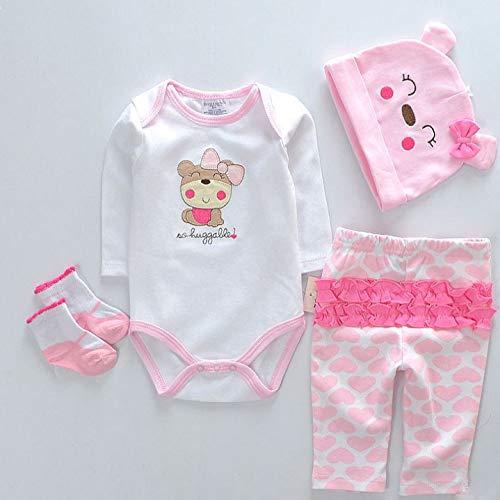 LLX Moda Ropa De Bebé Recién Nacido Reborn Baby Girl Doll Ropa para 20-22 Pulgadas 50-55 Cm Doll Gifts,C