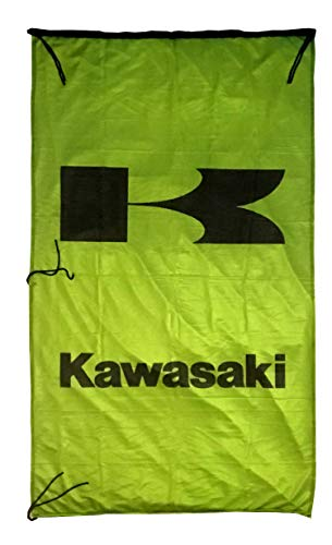 Cyn Flags KAWA-SAKI Grun Fahne Flagge VERTIKAL 5 X 3 ft