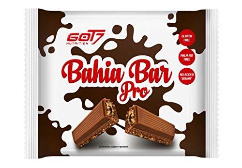 Got7 Bahia Bar Pro Schokoladenwaffel Proteinriegel Eiweißriegel Whey Diät Fitness Bodybuilding 14er Box