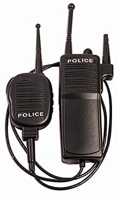 Forum Novelties Police Walkie Talkie Set, Black, Standard (Non-functioning) from Forum Novelties