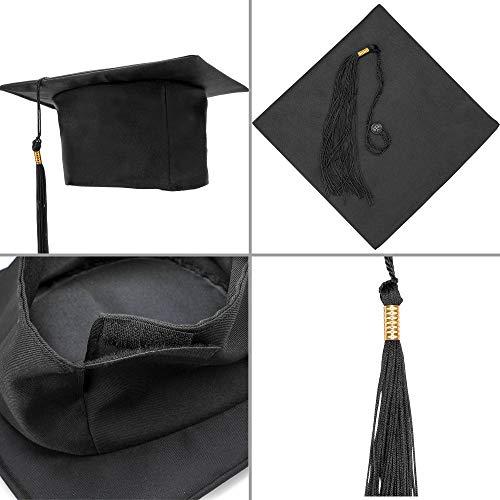 HOWAF Sombrero de graduación 2021, Birrete graduacion Adulto y Banda Graduación, Celebrar el Fin de Estudios en Universitario
