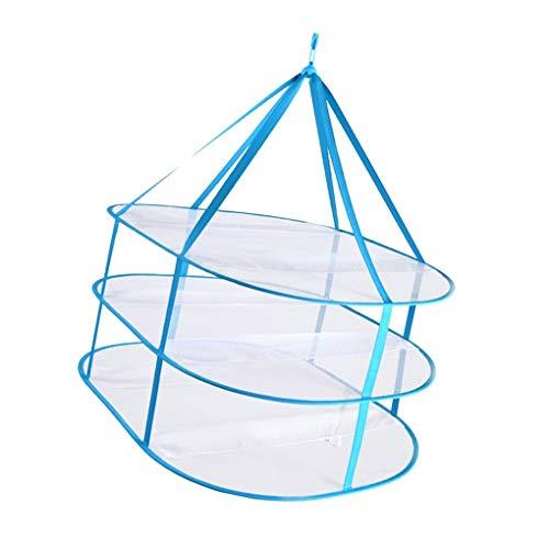 Guangcailun 3 Tiers Faltbare Winddicht atmungsaktiv Dry Net Kleidung Unterwäsche Socken Ineinander greifen Aufhänger Faltkörbe