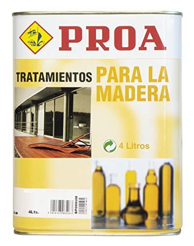 ACEITE DE LINAZA PROA. Protección y nutrición para la madera.