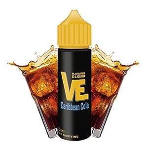 VE Sweet Drink Caribbean Cola - Eco Vape E-Liquid   50ML   Sin Nicotina: 0MG   80VG/20PG   E-Liquido para Cigarrillos Electronicos   Vaper   E Cigarette   E Shisha