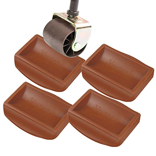Yupeak Bed Stopper & Furniture Stopper – Caster Cups fits to All...
