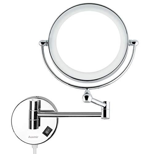 Auxmir Specchio Trucco da Parete con LED in...