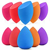 InnoGear Makeup Sponge, 10 Pcs Makeup Sponges Blender Set Beauty Cosmetic Foundation Blending Applicator Puff, Flawless...