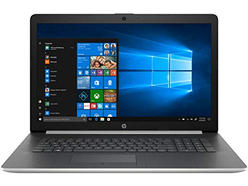 HP 17-ca1000nf - PC Portable - 17''  HD SVA Argent (AMD Ryzen 3 3200U, RAM 4 Go, Stockage 1 To, AMD Radeon Vega 3, Windows 10) + AZERTY