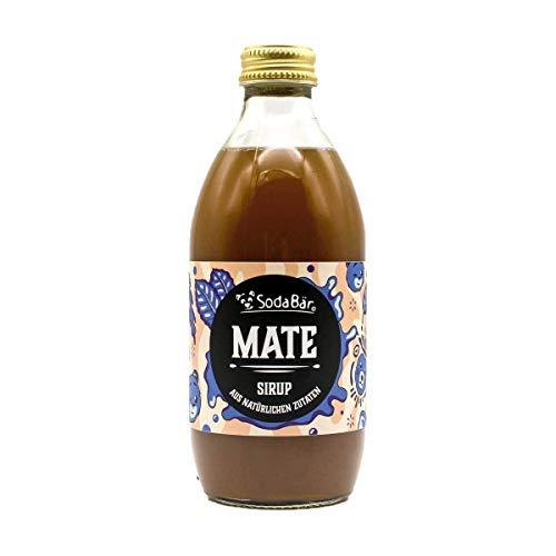 Natural Mate-Sirup > 1 Flasche ergibt 6 Liter fertiges Getränk. Einfach mischen, zack bumm fertich.
