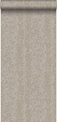 behang dierenhuid glanzend brons - 326328 - van Origin - luxury wallcoverings