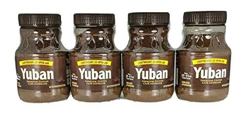 Yuban Premium Coffee, 8 Oz. EZ-OPEN JAR - PACK OF 4