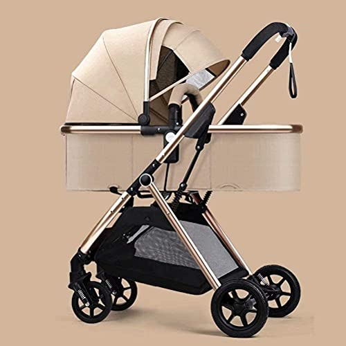 Cochecito de bebé Portátil Portátil Cochecito de carruaje para bebé Cochecito para el recién nacido Niño pequeño Cochecito ligero Plegable Ligero Ligero Bebé Sombra de paraguas Piel de viaje con cesta