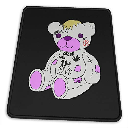 Lil Peep Bear Mouse Pad Gaming Mouse Pad Laptop Mouse-Pads Office Mouse Pad
