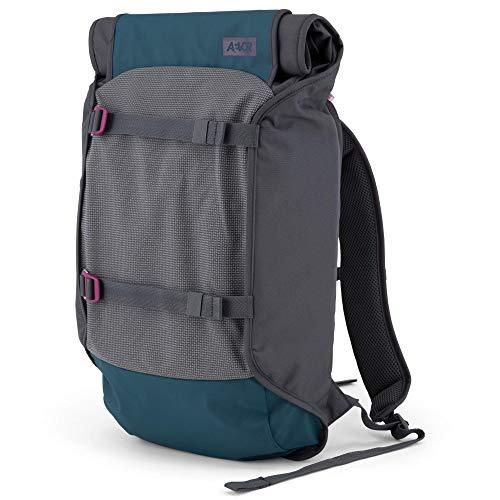 AEVOR Trip Pack Echo - reflektierender Rucksack, erweiterbar, ergonomisch, Laptopfach - Purple