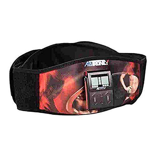 OnlineWorld Abtronic Fat Minimizer Slimming Belt Slim N Lift Heating Magnetic Sauna Slimming Belt To Reduce Extra Fat Faster Weight Loss & Burns Calories (Black)