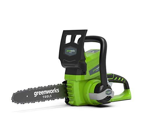 Greenworks Tools 2000007 Kettingzaag, werkt op batterijen Alleen gereedschap (zonder accu en oplader). 25cm 2000007
